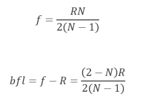 fig-5 ball lens equations