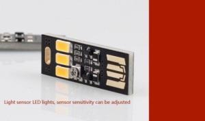 LED USB night light